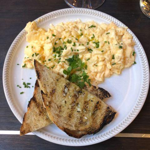 Äggröra med danskt råg – Bild från Gastrotek Zink av Annelie V.