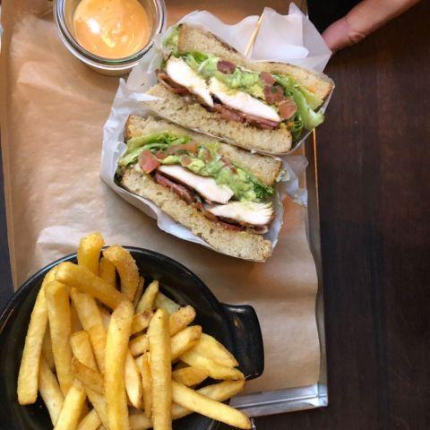 Club sandwich – Bild från Gastrotek Zink av Annelie V.