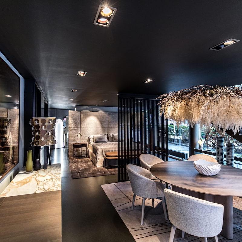 Geco showroom, Minotti och Maxalto – Bild från Geco av Geco I.