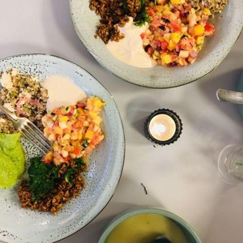 Vegansk lunchbuffé (tacofredag) inkl. Soppa och kaffe! – Bild från Gigafood av Anna T.
