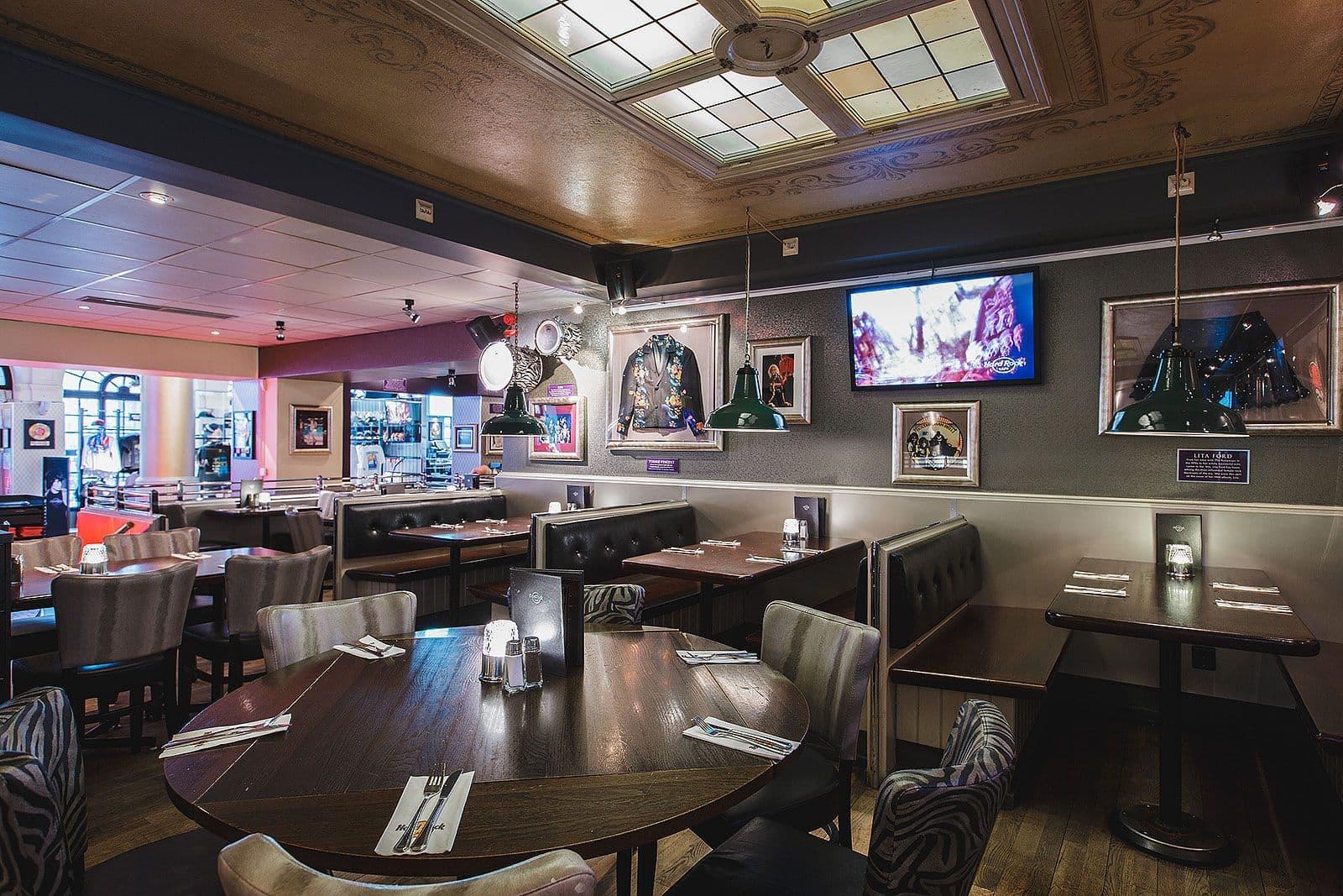 Hard Rock Cafe Stockholm Meny