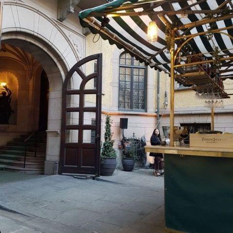 Bild från Hallwylska Museets innergård av Michaela J.