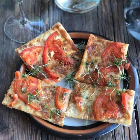 Smördegspizza – Bild från Handelshuset av Agnes L.