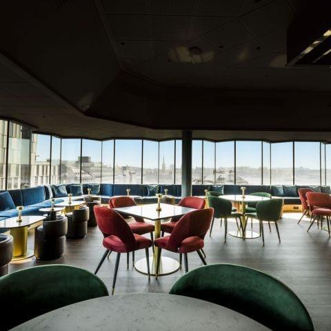 Stockholms nya höjdpunkt – Bild från HIGH The cocktail social club STHLM av Veronica L.