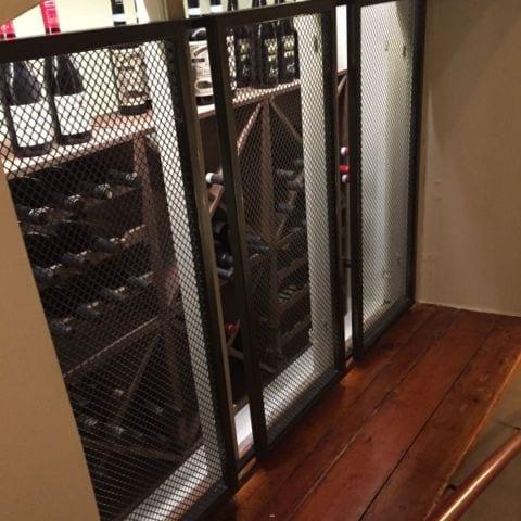 Snygg detalj i trappen från rummet till receptionen – Bild från Hotel Frantz av Katrine L.