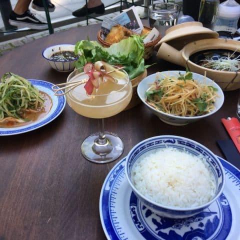 Njutning och god mat – Photo from Humlan by Agnes L.