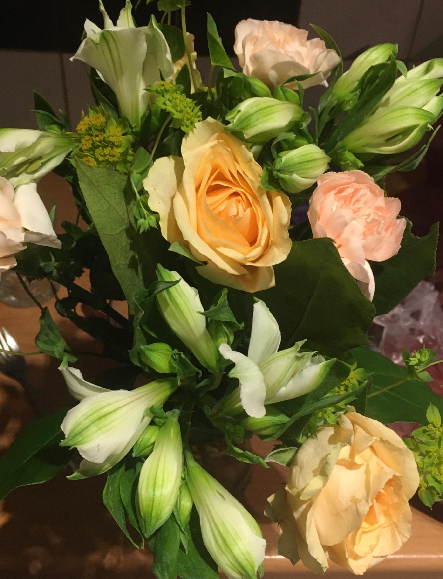 Bild från Interflora Axxent blommor av Mimmi S.