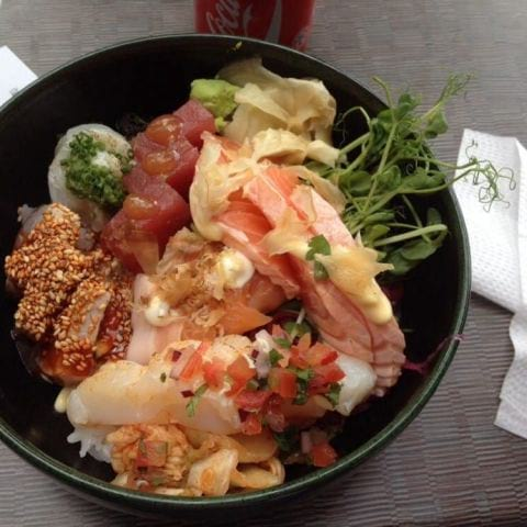 chirashi – Photo from Itamae Izakaya by Katarina D.
