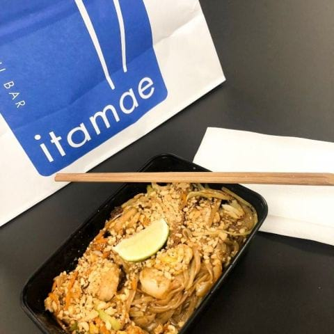 Pad thai med scampi – Photo from Itamae Thai Style by Ida B.