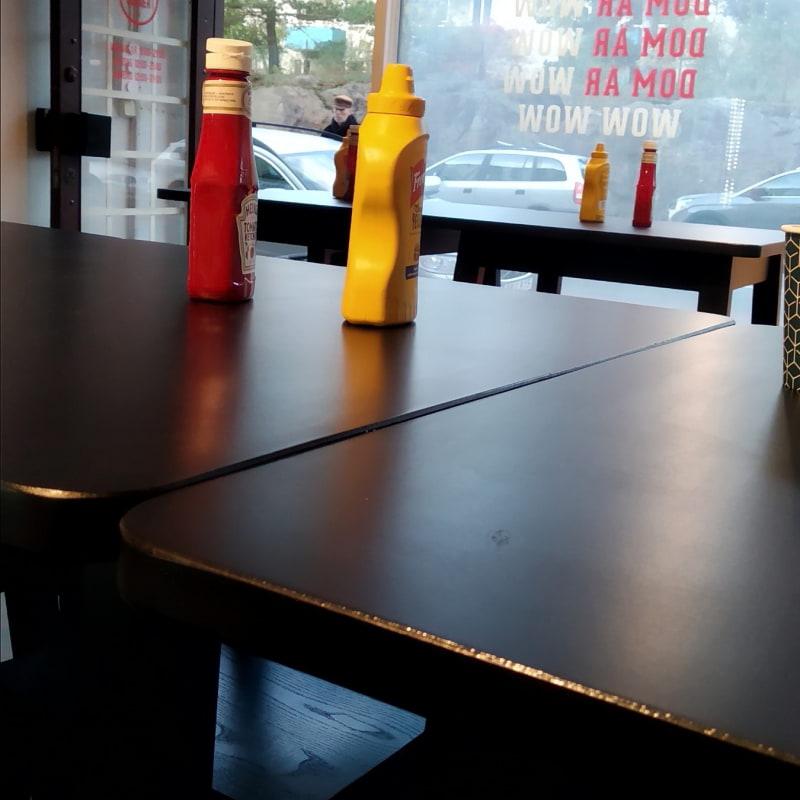 Bild från Jett'z Burger Årsta av Katarina D.