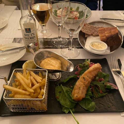 Fish n chips – Photo from Johan P by Adam L.