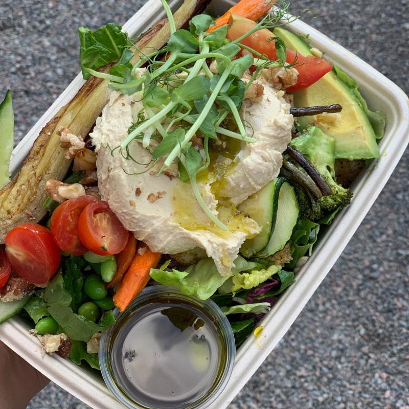 Vegan Sallad - Mat – Bild från Kajsas i Parken av Stephanie ö.