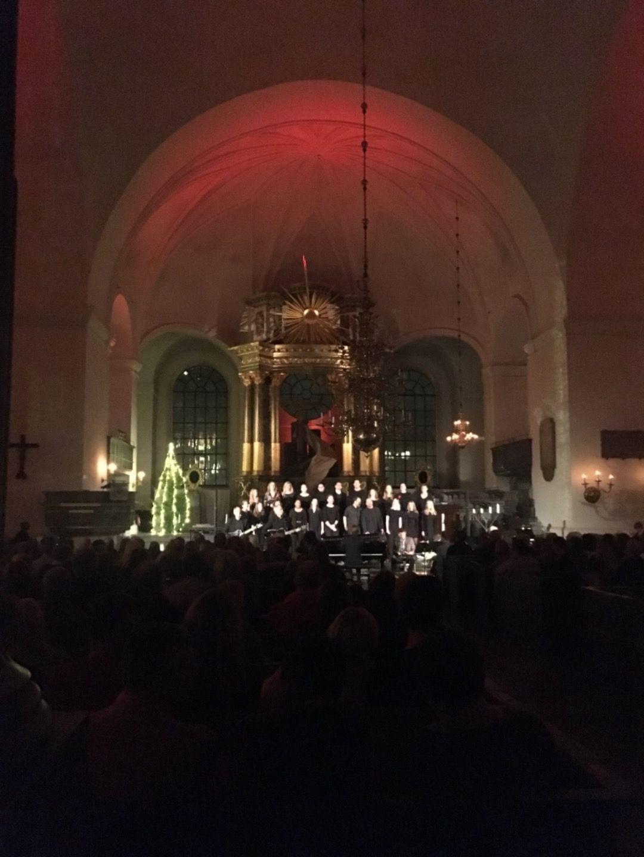 Julkonsert med Katarina Pop – Bild från Katarina kyrka av Fredrik J.