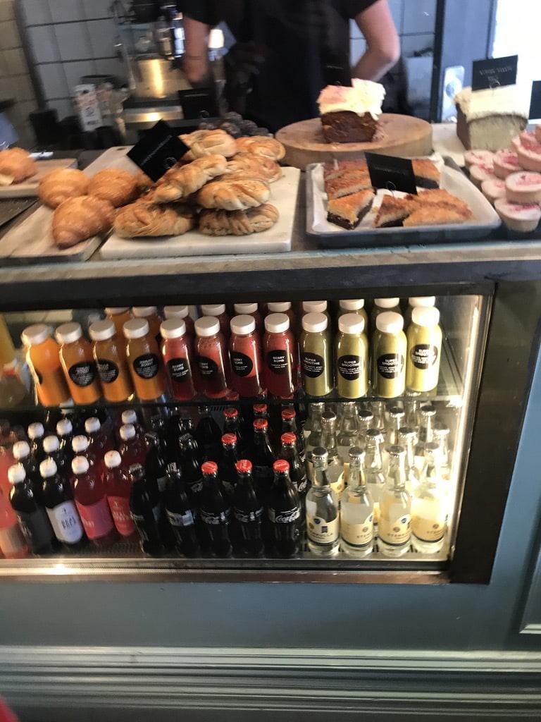 Fika-utbudet – Bild från Kaffeverket av Jessica K.
