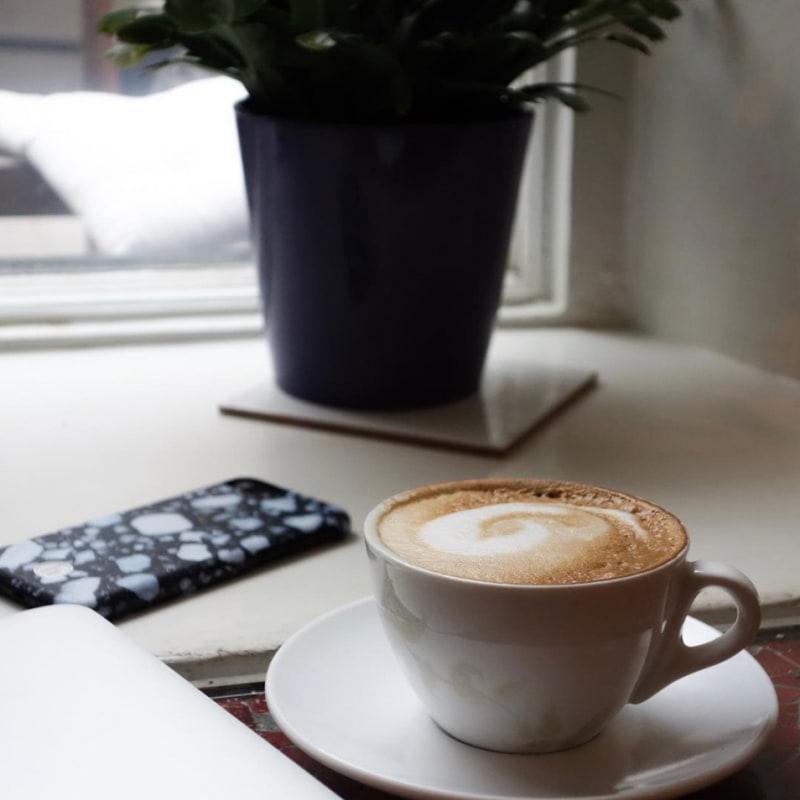 Cappuccino! – Bild från Ka's Café av Jessica K.