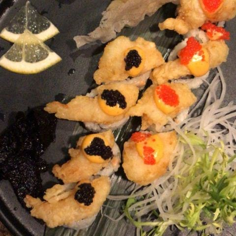 Dagen tempura shrimp - 2019 – Photo from Kasai by Hanna D.