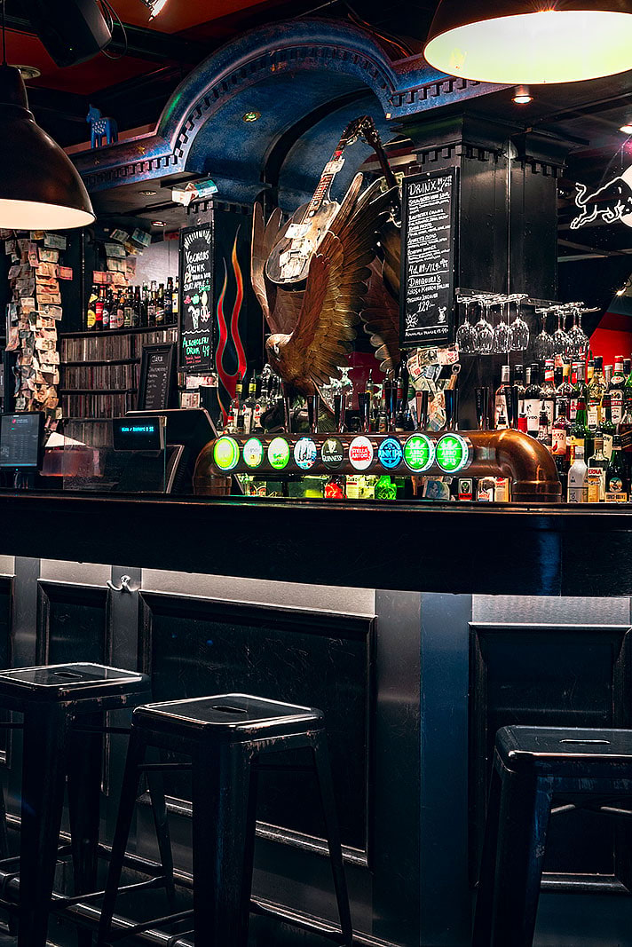 Krok upp barer London