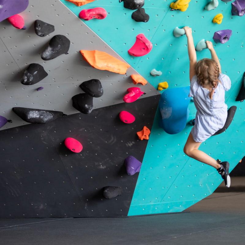 Super tungt att hänga upp och ner – Photo from Klättercentret by Felix T.