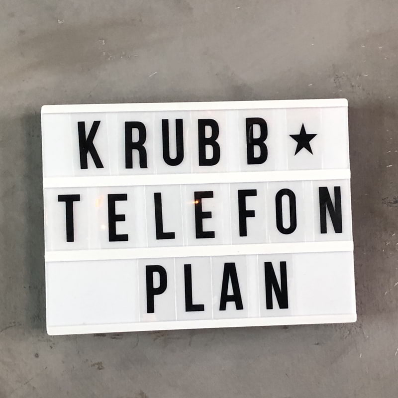 Photo from Krubb Telefonplan by Pia H.