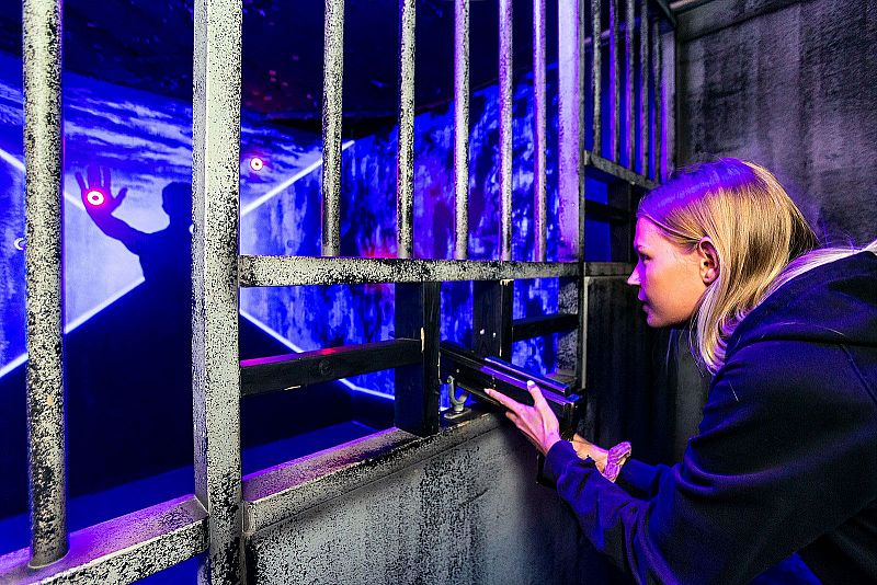Laserdome & Prison Island