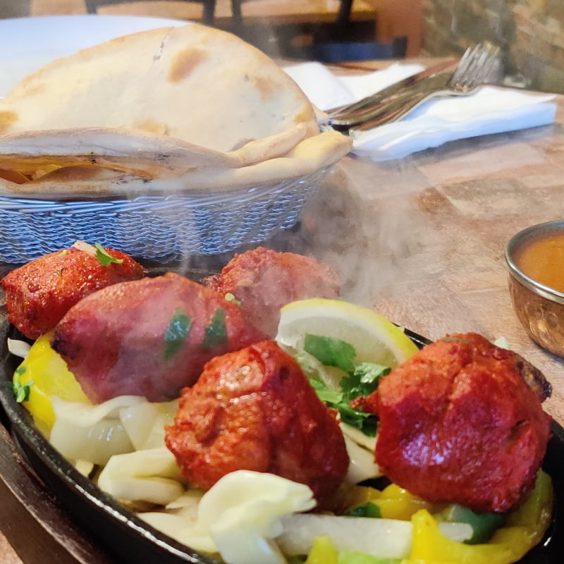 Chicken Tikka Sizzler – Photo from Lahori Masala by Shahzad A.