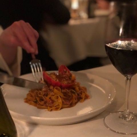 Hummerpasta – Photo from La Vecchia Signora by Annelie V.