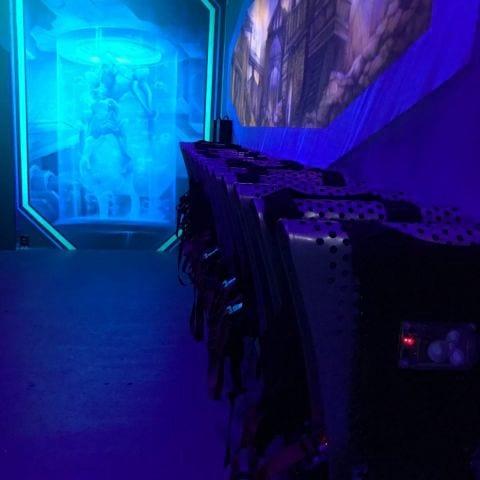 Bild från Laser Zone av Nikolina J.