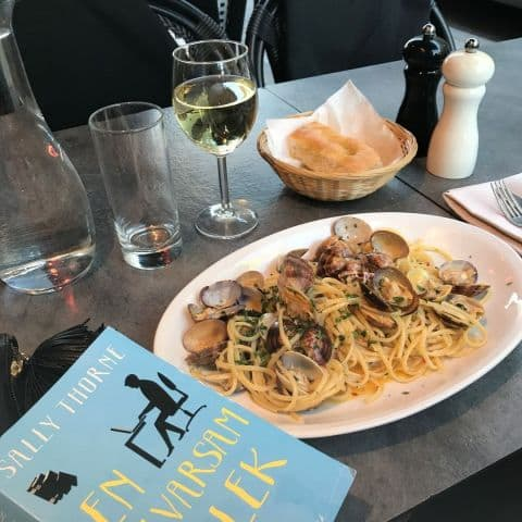 Pasta Vongole – Photo from Linguini by Carolina B.