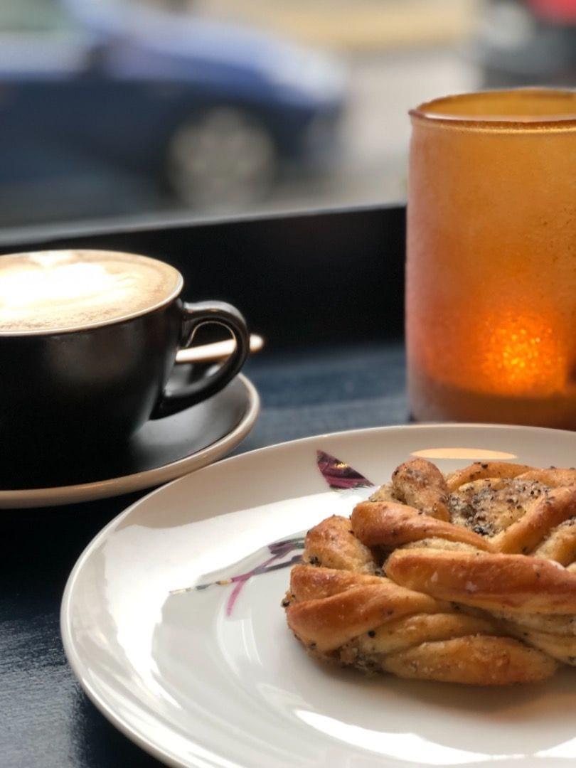 Redit kaffe 💪🏻 – Bild från Lilla Le Mond av Elin L.
