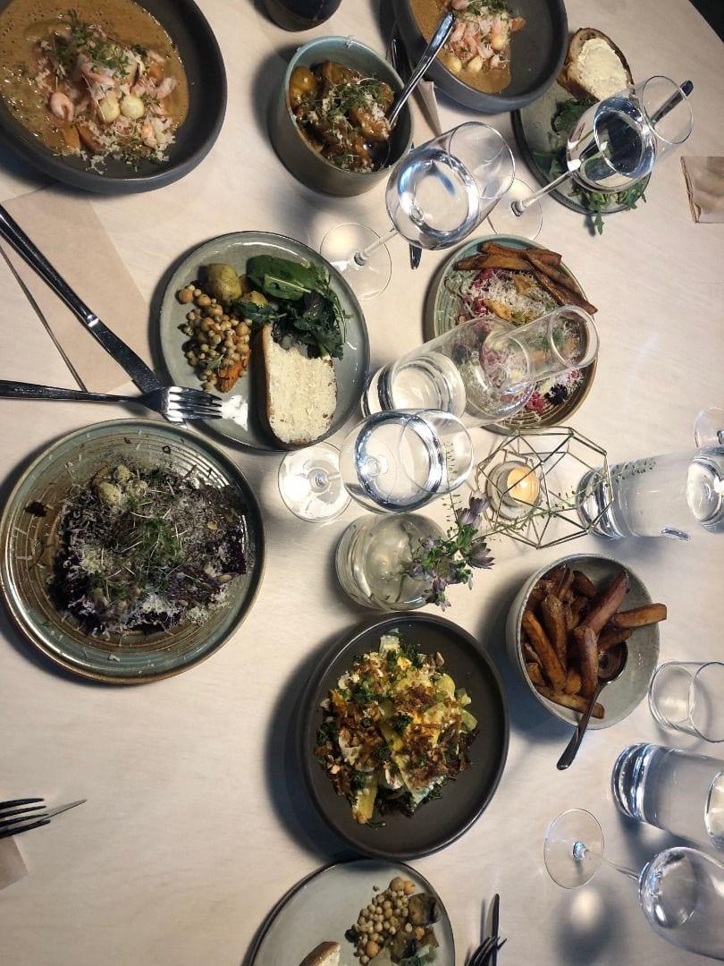 Rätterna mitt sällskap och jag åt. – Bild från Lokal 17 Pembert & Gustafsson av Emmi A.