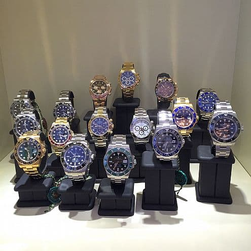 Luxury Watches Grev Turegatan
