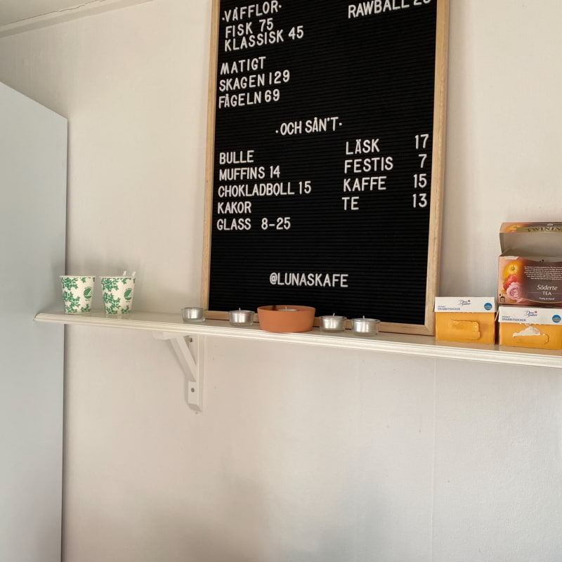 Bild från Lunas Kafé av Madiha S.