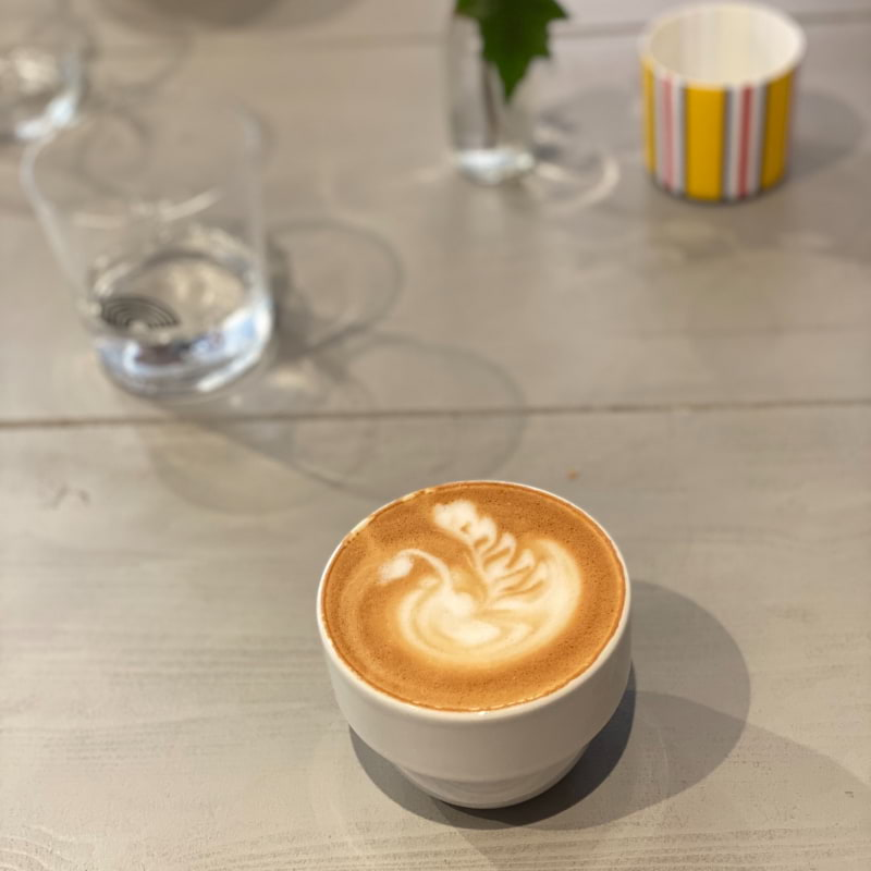 Perfekt cappuccino – Photo from Lykke Kaffegårdar Nytorget by Agnes L.