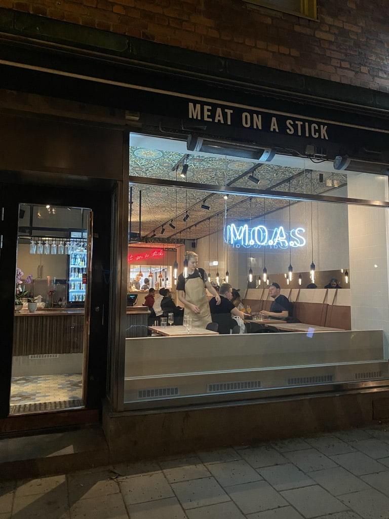 Bild från M.O.A.S - Meat on a Stick Nytorget av Adam L.