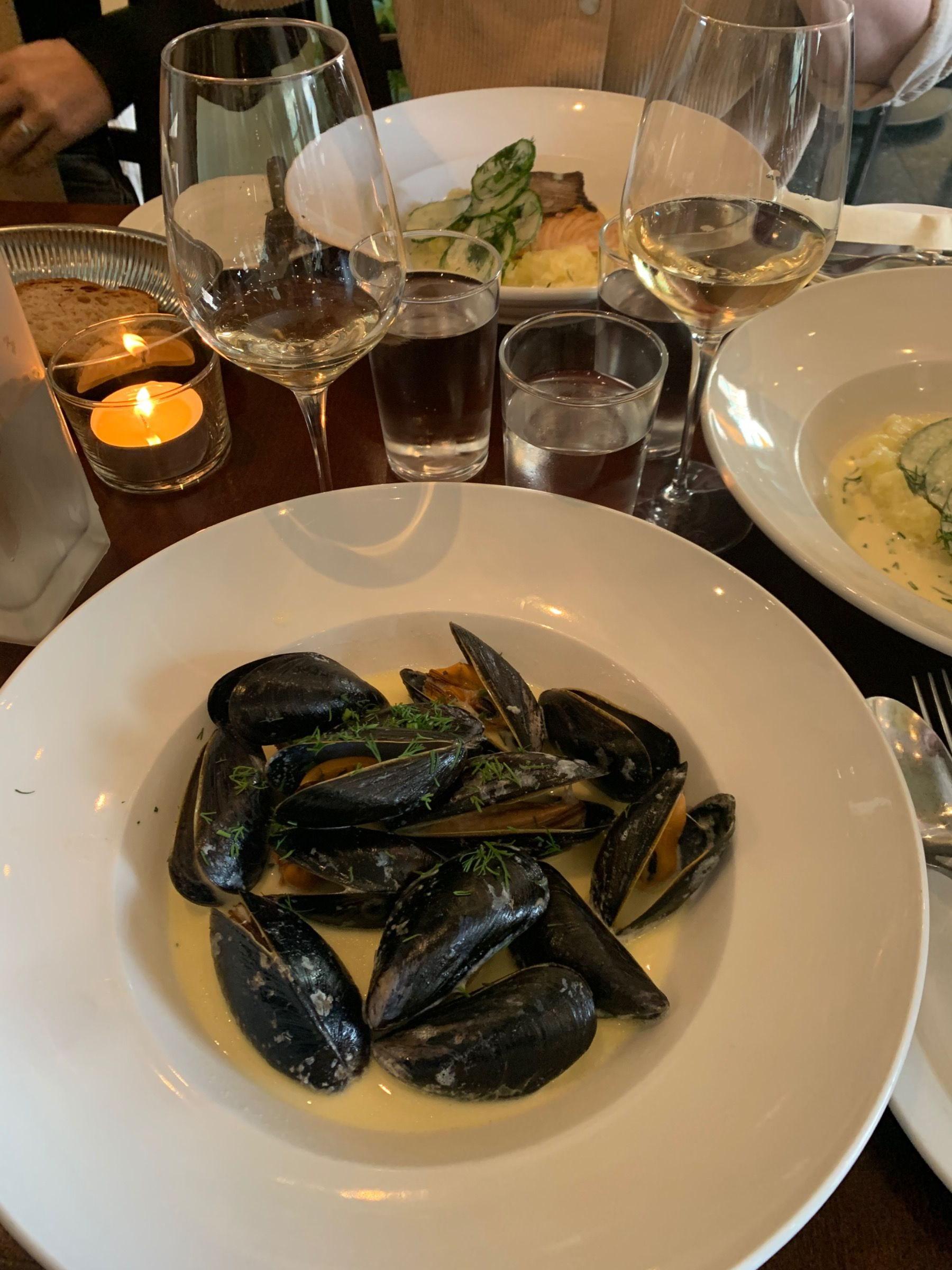 Ärligt. Hur få musslor?! – Bild från Ma Cuisine av Malin S.