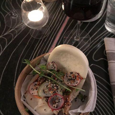 Bao med pork! – Bild från Magnolia av Jessica K.