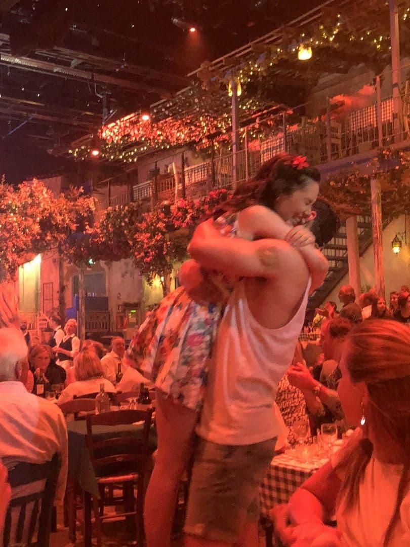 Bild från Mamma Mia The Party av Linn W.