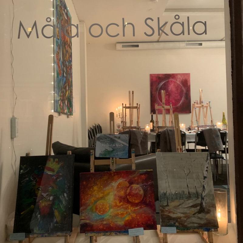 Bild från Måla och Skåla av Malin S.