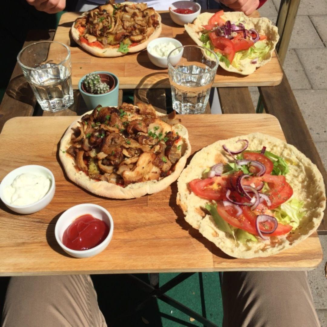 Gyros på lunchen på Matley Café & Bistro – Bild från Mat'ley Café & Bistro av Peter B.