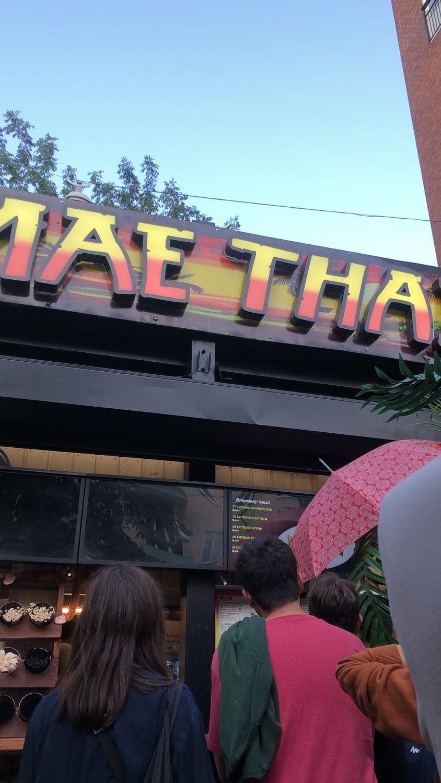 Bild från Mae Thai Götgatan av Mythu L.