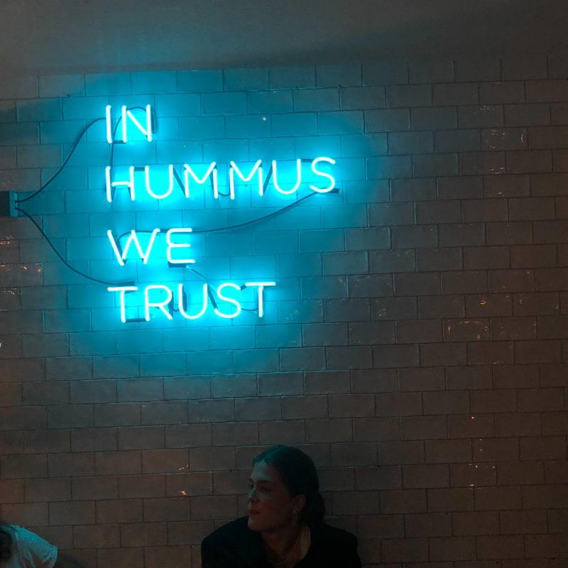 Bild från Manoshé – The Hummus Club av Ida B.