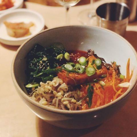 Vegetarisk bibimbap – Photo from Madam by Agnes L.