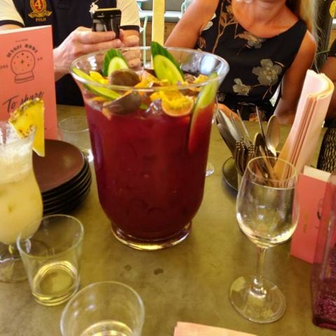 En enorm sangria – Photo from Magic Flamingo by Henrik J.