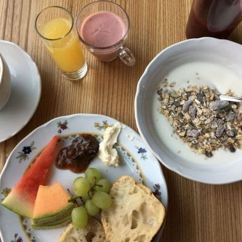 Bara en liten del av frukostutbudet. – Photo from Miss Clara Hotel by Johanna L.