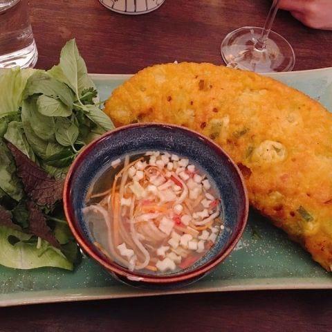 vietnamesisk pannkaka – Bild från Minh Mat av Katarina D.