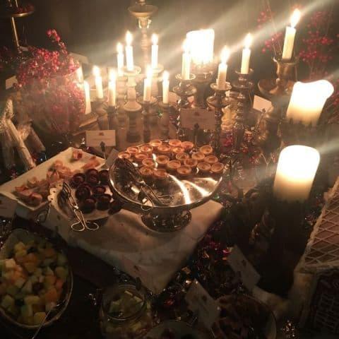 Julbordets desserter – Bild från Mister French av Fredrik J.