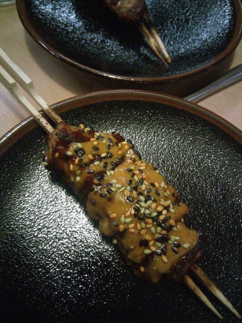 Pork skewer – Bild från Misshumasshu av Katarina D.