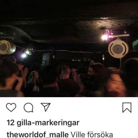 Sthlms Klubben Garage Sessions Vol 2 15/3 Toofan Salehour en av arrangörerna – Bild från Morfar Ginko av Malin L.