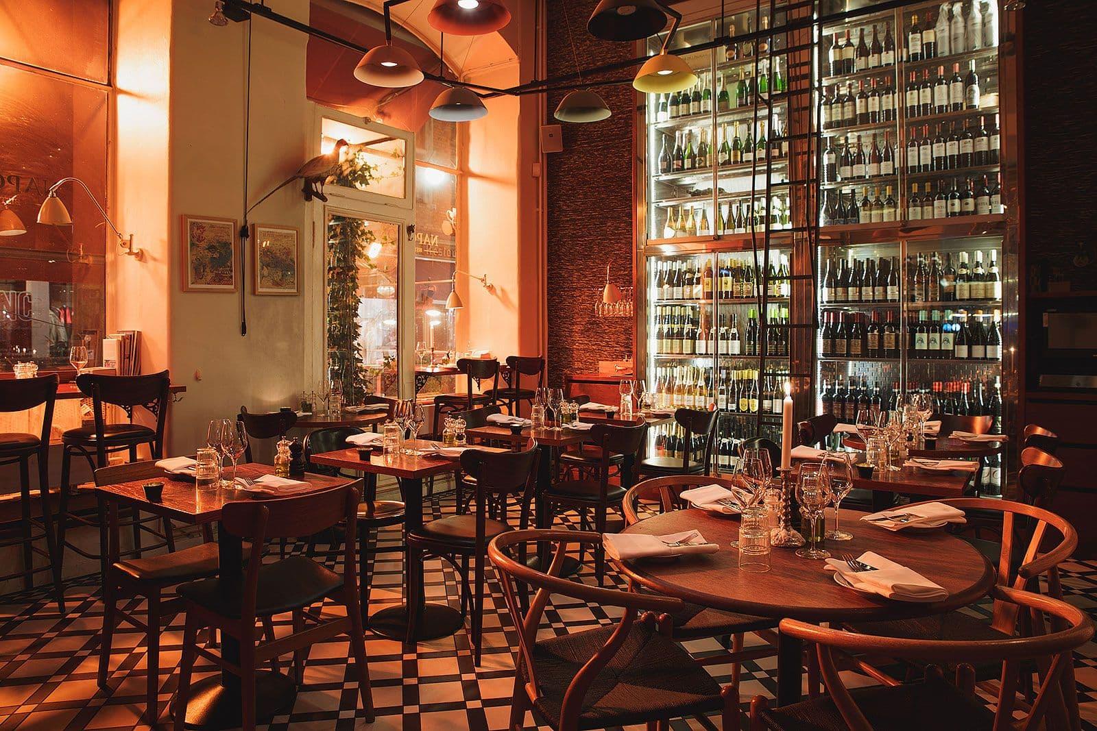 Fransk restaurang gamla stan