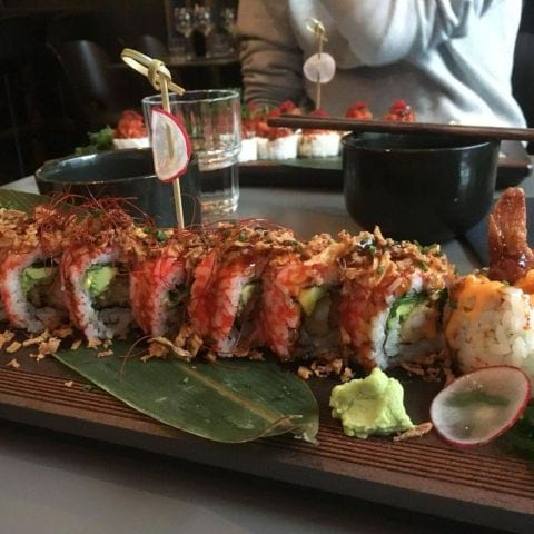 Tempura roll – Photo from Naked Fish by Kristoffer R.